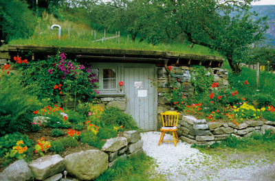 Дизайн скандинавский сад