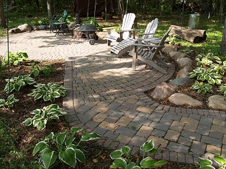 Дизайн магия круга в оформлении сада