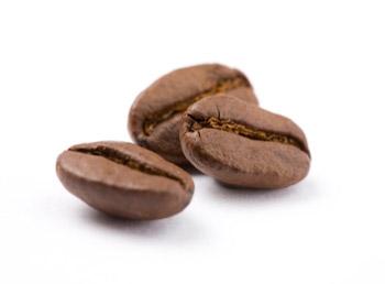 обжаренные зерна кофейного дерева