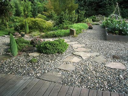 Гравийный сад это несложно и очень декоративно